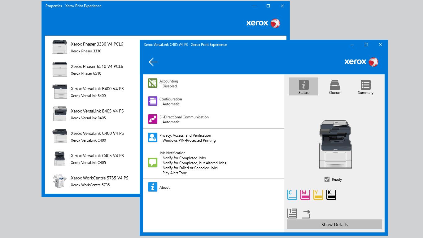 Xerox Print Experience for Windows 10