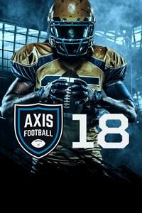 Carátula para el juego Axis Football 2018 de Xbox 360