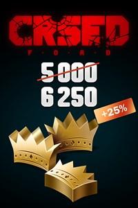 CRSED: F.O.A.D. - 5000 (+1250 Bonus) Golden Crowns