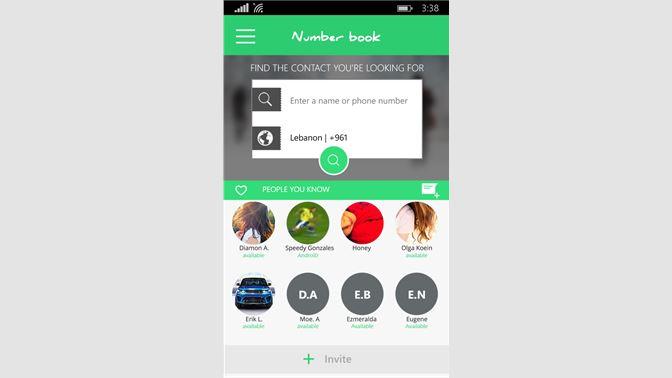 Get NumberBook Social  - Microsoft Store
