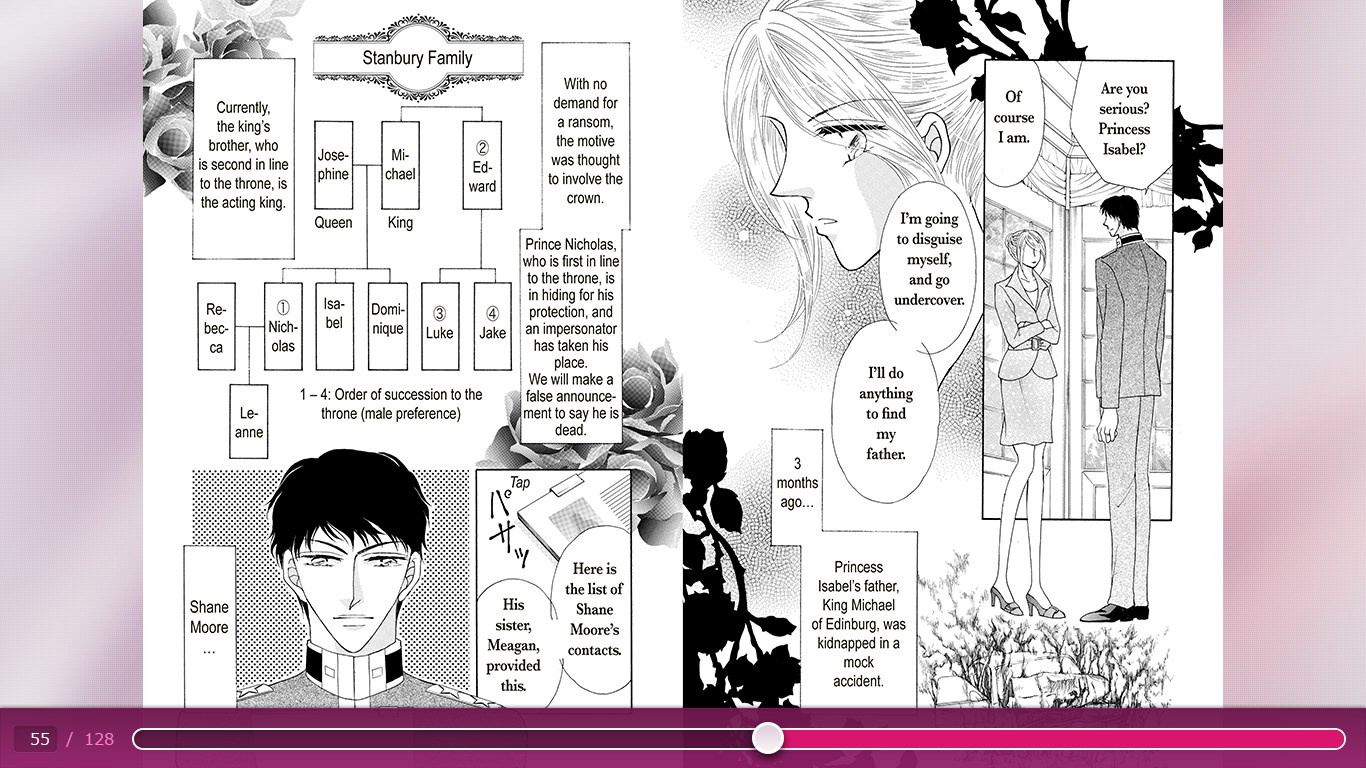 Screenshot 2 de An Officer and a Princess(Harlequin free) para windows