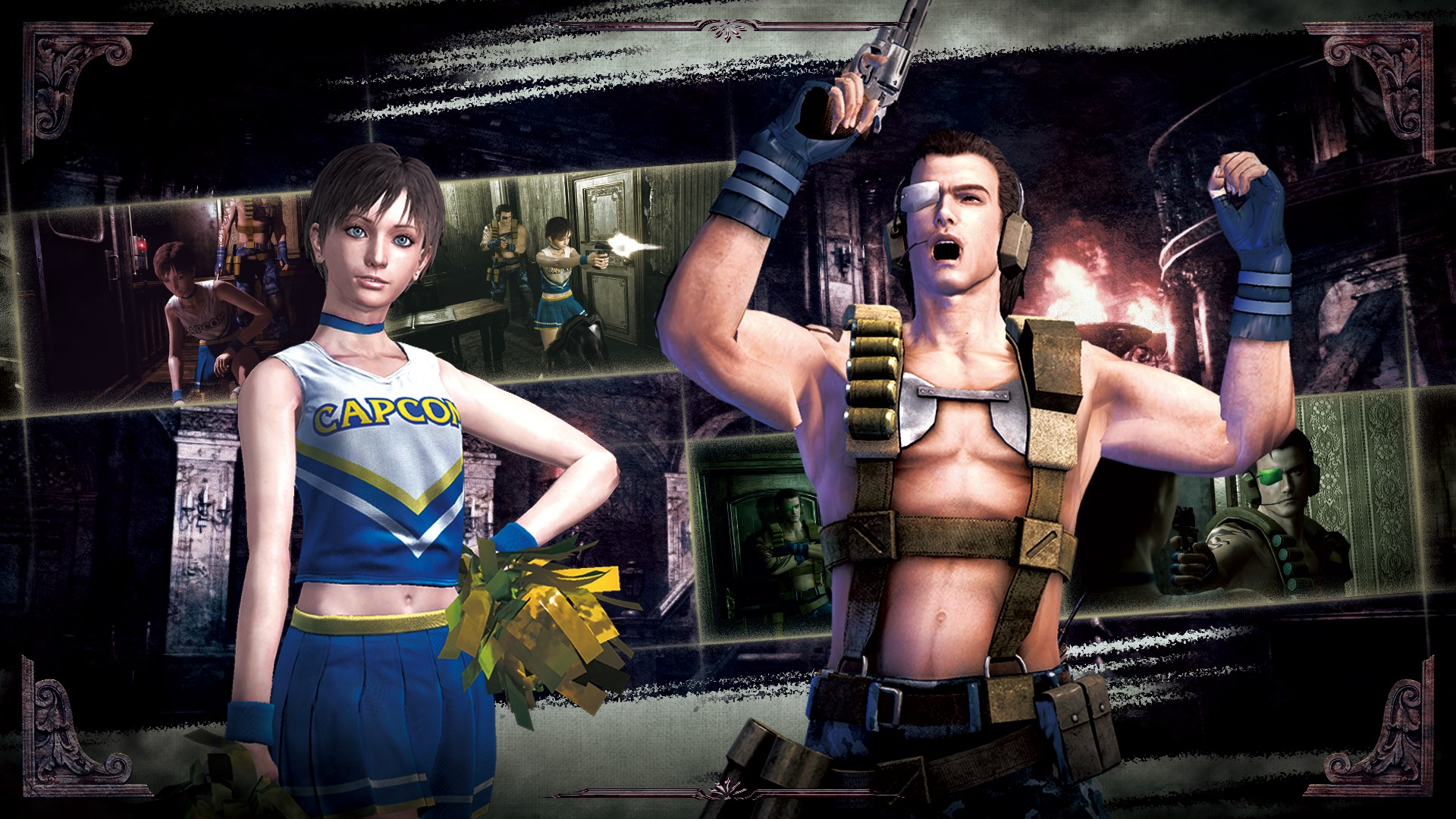 Resident Evil 0 Pacote de Roupas 1
