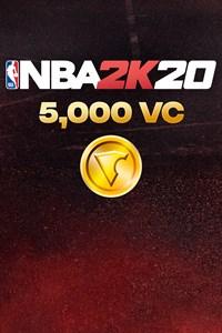 Carátula del juego 5,000 VC (NBA 2K20)