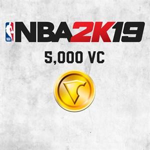NBA 2K19 5,000 VC Xbox One