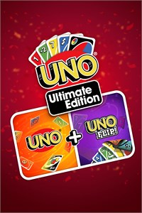 Carátula para el juego UNO Ultimate Edition: UNO + UNO Flip! de Xbox 360