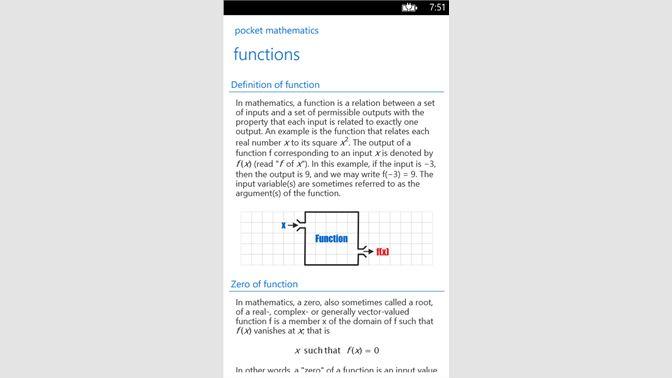 Get Pocket Mathematics - Microsoft Store