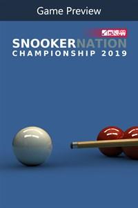 Carátula para el juego (GAME PREVIEW) Snooker Nation Championship de Xbox 360