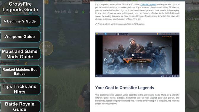 Buy CrossFire Legends Guide - Microsoft Store