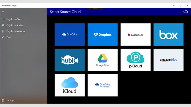 Get Cloud Media Player - Microsoft Store