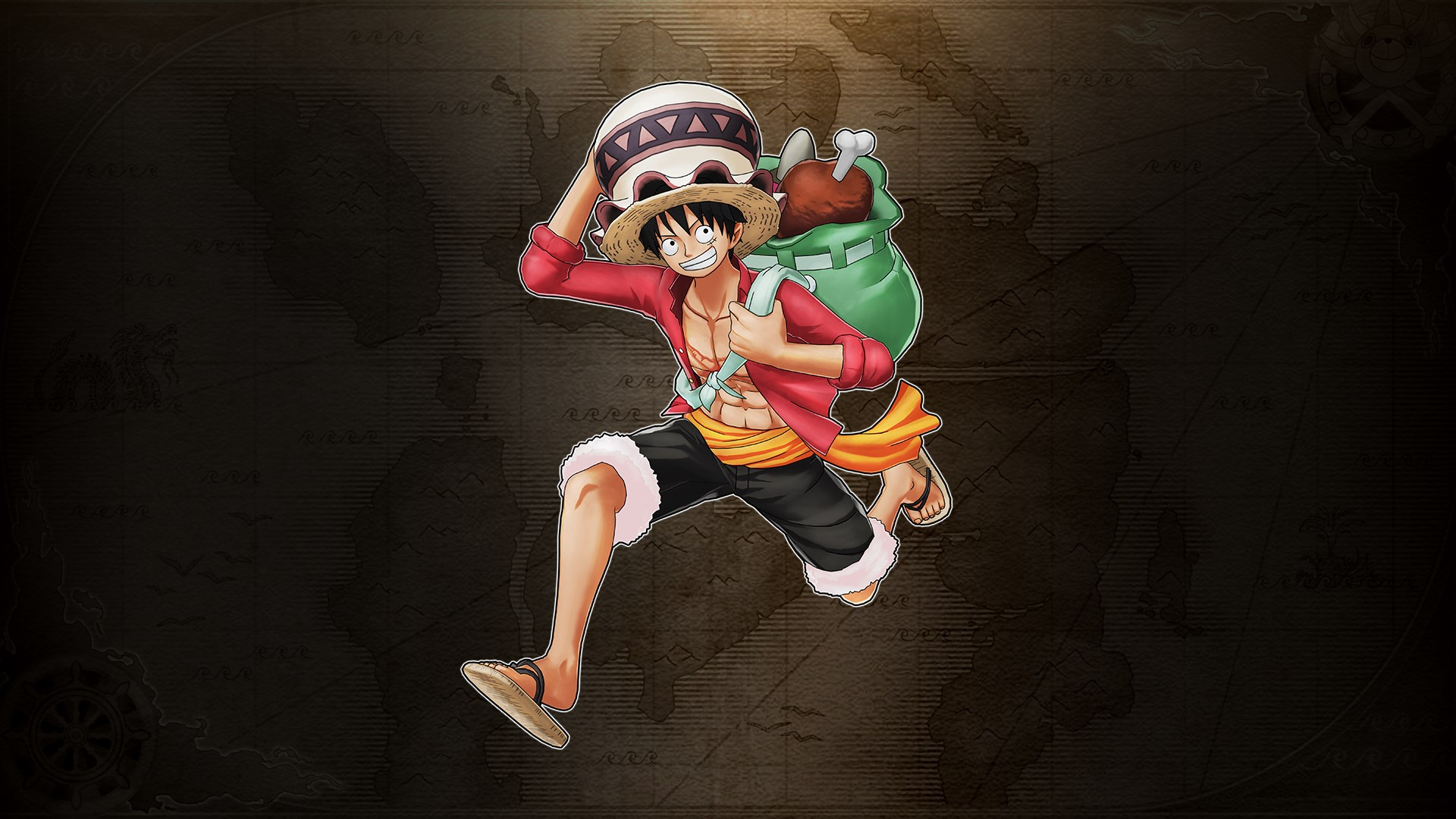 الحصول على One Piece World Seeker Treasure Hunting Outfit