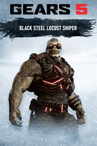 Sniper locuste acier noir