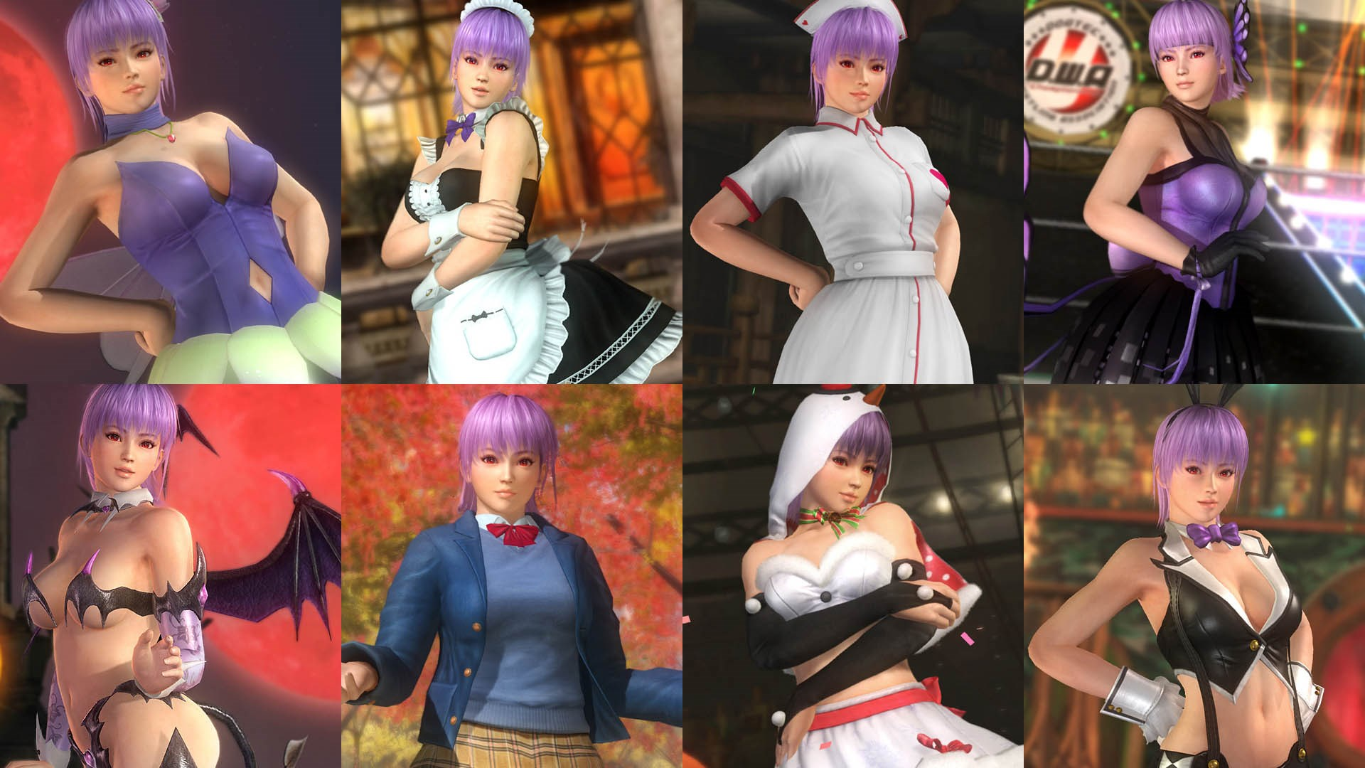 DOA5LR Ultimate Ayane Content
