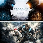 Gears of War 4 and Halo 5: Guardians Bundle Logo