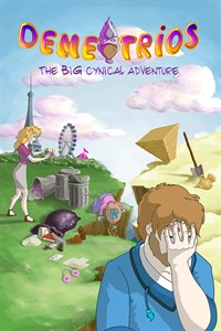 Carátula para el juego Demetrios - The BIG Cynical Adventure de Xbox 360