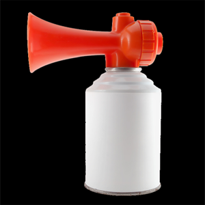 Airhorn Ultimate Sports Prank