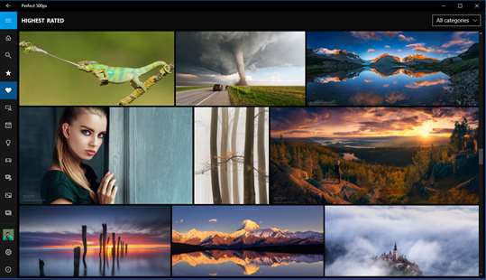 Perfect 500px screenshot 2