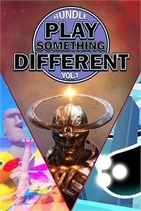 Carátula para el juego Play Something Different Vol. 1 de Xbox 360