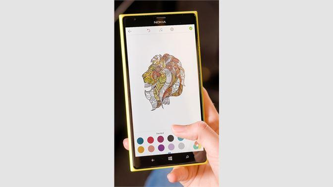 Screenshot Animal Coloring Pages