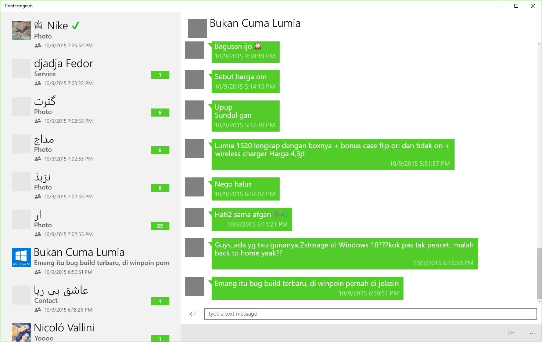 Chatogram Preview - A Telegram Client