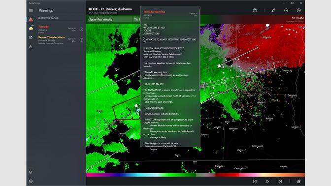 Buy RadarScope - Microsoft Store
