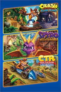 Pacote Triplo Crash™ + Spyro™