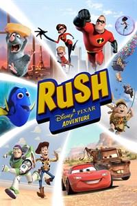 Carátula para el juego Rush: A DisneyPixar Adventure de Xbox 360