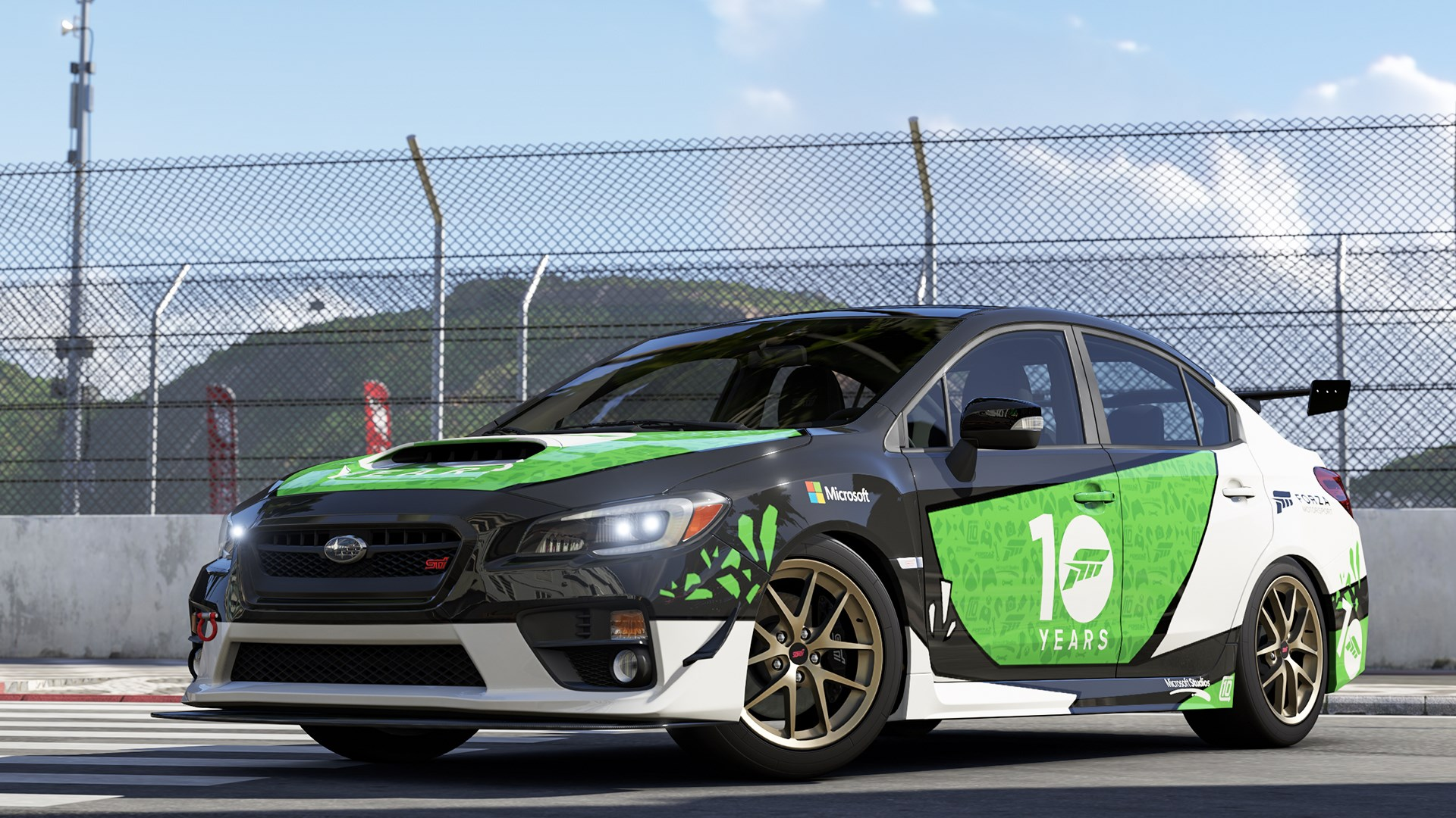 2015 Subaru Team Forza WRX Sti