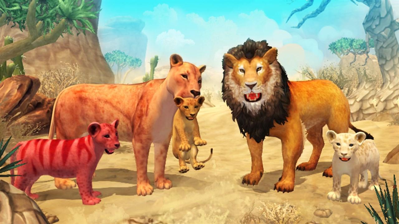 Get Lion Family Sim Online - Microsoft Store