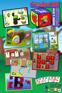 Preschool ABC Number And Letter Puzzle Games