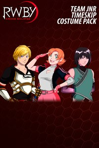RWBY: Grimm Eclipse - Team JNR Timeskip Costume Pack