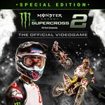 Monster Energy Supercross 2 - Special Edition Logo