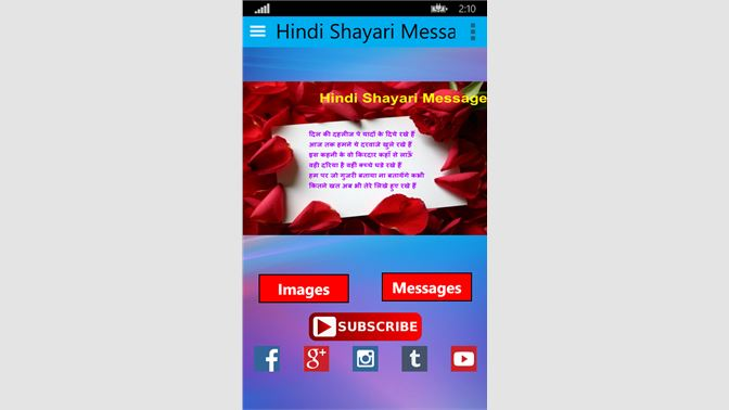 Get Hindi Shayari Messages - Microsoft Store