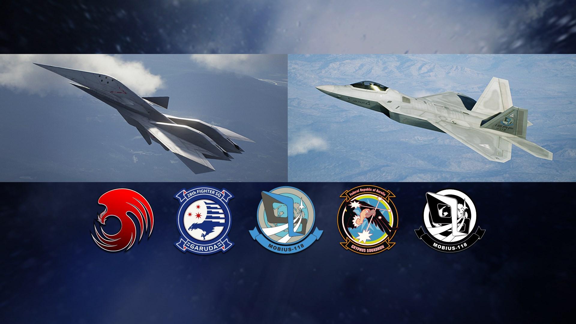ACE COMBAT™ 7: SKIES UNKNOWN - ADF-11F Raven Set