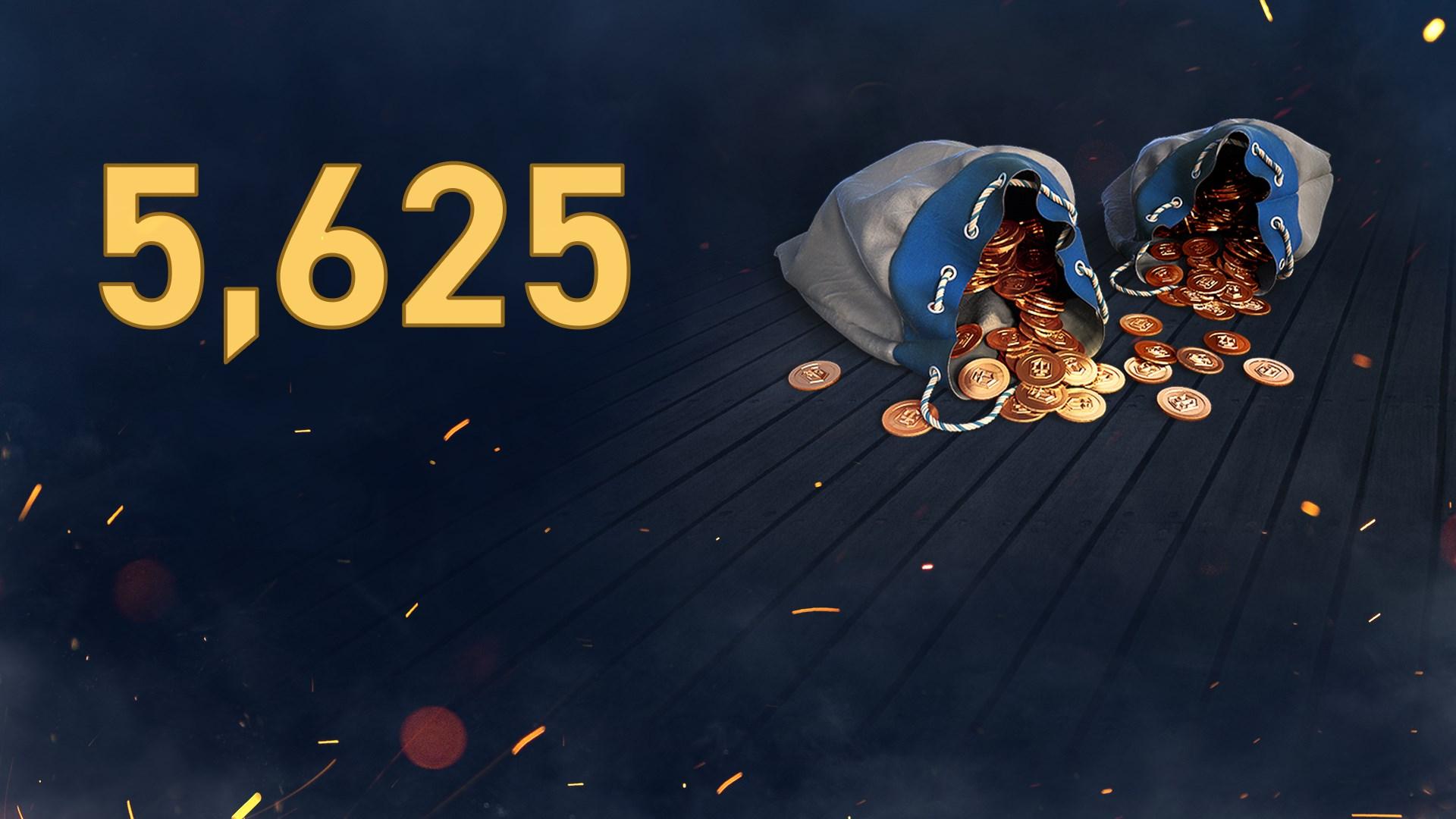 World of Warships: leyendas, 5625 doblones