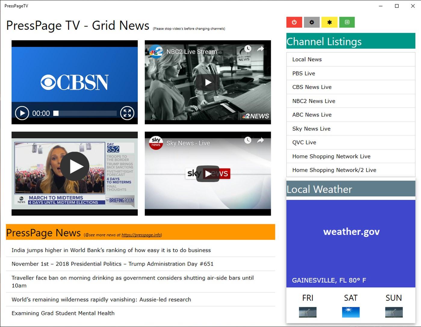 PressPage TV