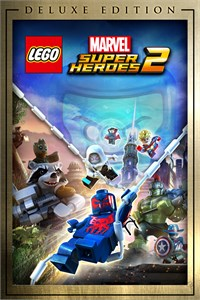 Carátula para el juego LEGO Marvel Super Heroes 2 Deluxe Edition de Xbox 360