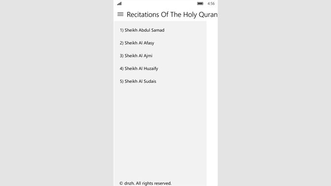 Get Recitations Of The Holy Quran - Microsoft Store