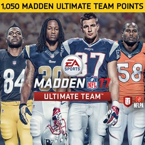 1050 Pontos Madden NFL 17 Xbox One