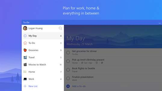 Microsoft To-Do screenshot 3