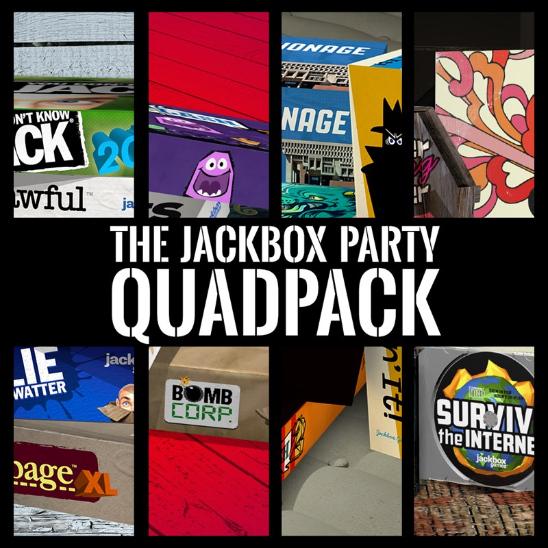 25% discount on The Jackbox Party Quadpack Xbox One — buy ...