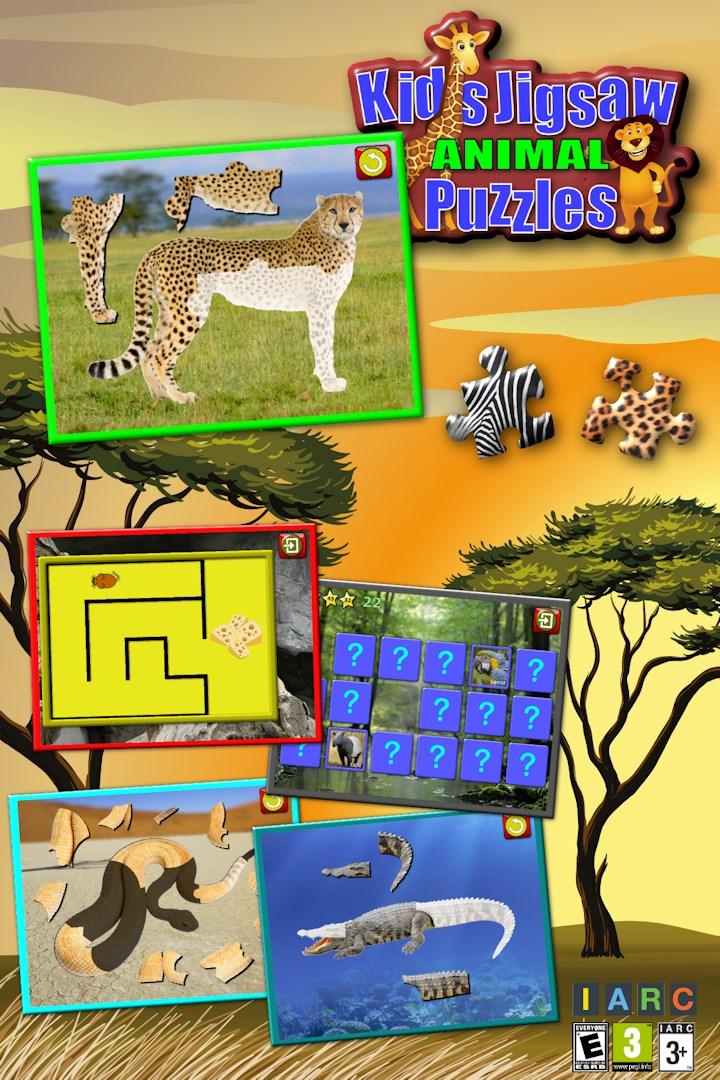3e99683652 Baixar Quebra-cabeças de crianças Animal - ensina formas e correspondência  - Microsoft Store pt-BR