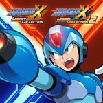 Mega Man X Legacy Collection 1+2 Logo