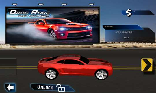 Drag Racing 3D Rush Rivals screenshot 1