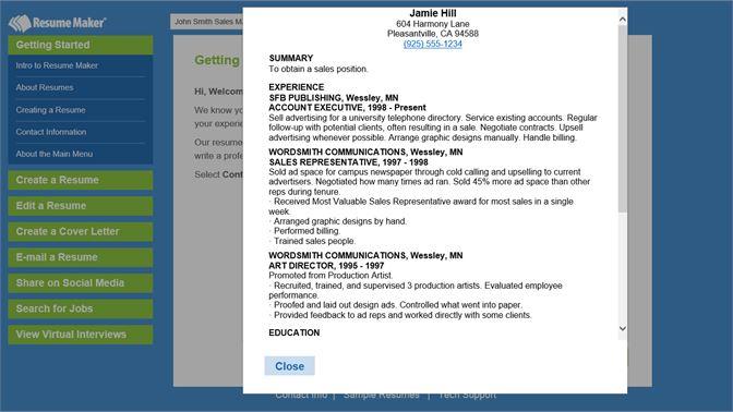 buy resume maker microsoft store