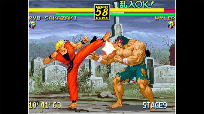 Buy Aca Neogeo Art Of Fighting 3 Microsoft Store