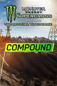 Carátula del juego Monster Energy Supercross - Compound