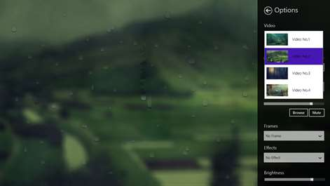 Blurry rain Screenshots 2