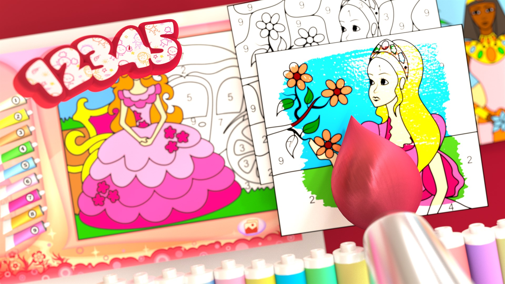 Comprar Princesa - Libro para Colorear - Microsoft Store es-ES