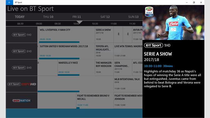 bt sport app for pc