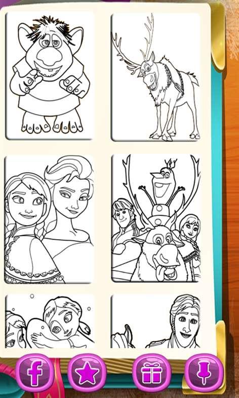 Get Cartoon Coloring Book